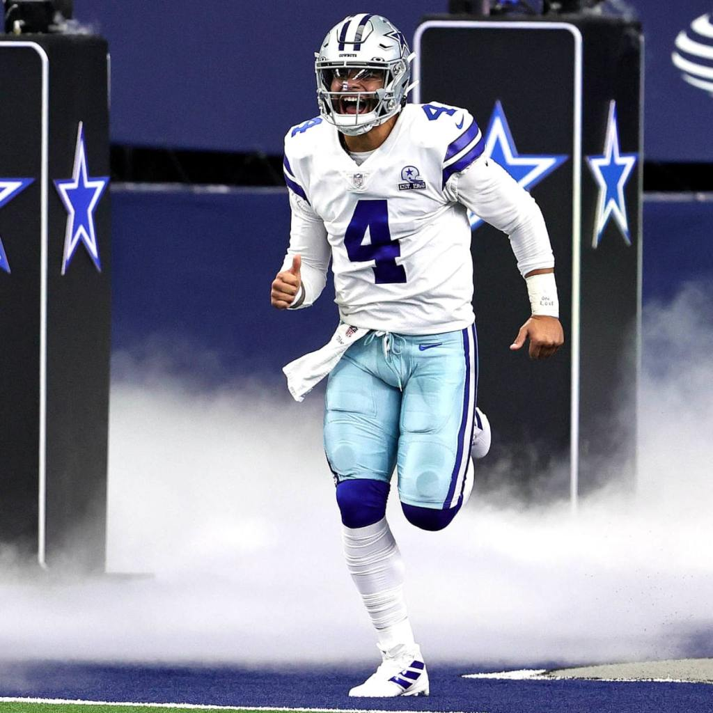 Cowboy fans have been waiting to see a healthy Dak Prescott hit the field.